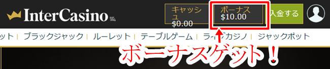 インターカジノ登録画面6